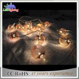 2015美しい中心の形/中心の形妖精ストリングライトが付いている新しく熱い販売のクリスマスの装飾ライト休日ライトLED太陽チェーンライト
