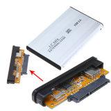 """HDDの収納箱、2.5 """" SATAのハードディスクHDDの箱の外部機構"""