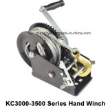 3000-3500lbs Hand Puller Power Electric Winch Crane