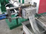 Tipo línea del soporte de la granulación del PE de los PP del HDPE del tanque de la refrigeración por agua