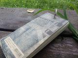 청바지 색깔 덮개 포켓 크기 두꺼운 표지의 책 노트패드