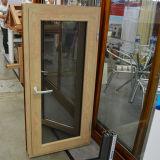 Finestra di legno di alluminio della stoffa per tendine della rottura termica Colourful di alta qualità con la multi serratura K03044