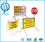 주문을 받아서 만들어진 도로 교통 안전 경고 표시