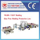 Cadena de producción libre de la guata del pegamento de la fibra de poliester