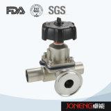 Нержавеющая сталь Пневматический мембранный клапан Санитарный (JN-DV1001)