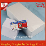 Glattes Finish White PVC Blank Card für Inkjet Printer