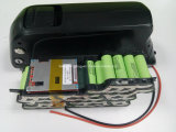 2 Years Warranty를 가진 52V Panasonic 또는 Samsung E-Bike Battery Pack 14s4p Downtube Dolphin Lithium Battery