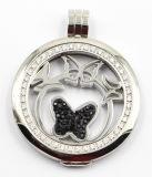 Fashion Design Locket Pendentif Collier Bijoux avec pierres ajustées Prong