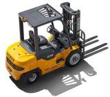 Empilhaderias Motor Diesel da Capacidade 2000kgs 2t 4409lbs Isuzu C240 do Forklift de Samuk