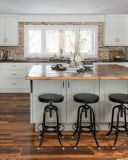 Estilo 2016 do abanador Wooden  Kitchen  Gabinete