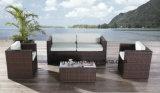 O sofá ao ar livre de vime da mobília do jardim da alta qualidade barata do preço ajustou-se usando o hotel/praia /Pool/Balcony (YT176)