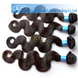 Máquinas feitas Wefts Remy Hair Weave, Unprocessed Brazilian Virgin Human Hair