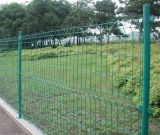 Двухсторонняя загородка сваренной сетки
