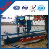 De goede Baggermachine van de Goudwinning van het Zand van de Emmerketting van de Rivier van Prestaties Betrouwbare