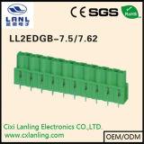 Conetor Pluggable dos blocos Ll2edga-7.5/7.62 terminais