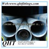 Pipe ronde de Gi Pré-Galvanisée par Q195 d'acier du carbone de la forme BS1387 de Secation