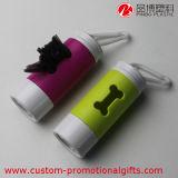 Knochen-Form-Haustier-Abfall-Beutel-Zufuhr mit LED-Licht