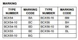 Potere medio del transistore Bcx56-16 NPN