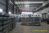 Hoja de acero acanalada acanalada galvanizada de /Gi del material de construcción
