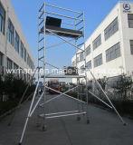 Système en aluminium d'échafaudage de la CE sûre pour la construction