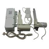 C.C. 12V de la base del masaje o 24V movimiento eléctrico 3000n del actuador 75m m