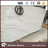 Laje de mármore branca nova de Volakas para a aplicação interior