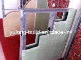 Scheda di gesso standard per il divisorio della parete