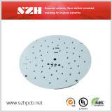 내각 PCB의 밑에 주문을 받아서 만들어진 알루미늄 1.6mm PCB/LED 가벼운 LED