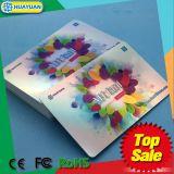 Metálico PVC 13.56MHz ISO 15693 Tarjeta RFID ICODE SLI para Smart business
