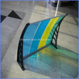 폴리탄산염 DIY Canopy 또는 Balcony Polycarbonate Shade