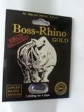 Todas las píldoras herbarias naturales del sexo del oro del rinoceronte de la protuberancia del extracto