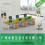 강철 발을%s 가진 형식 사무실 직원 테이블 사무실 책상