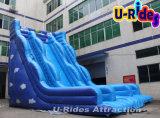 大人のための巨大で深く青いInflatable Slide