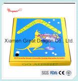 Comercio al por mayor personalizada 1-4colors Impresión B Flauta de cartón Caja de pizza