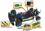 RTR RC540 motor con escobillas de Turismos