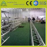 300 mm * 300 mm Rendimiento Conferencia de aluminio Evento Tornillo braguero