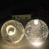 Cristallo solido della bolla - lampadario a bracci libero di progetto delle sfere di vetro