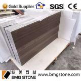 China-Kaffeebrown-hölzerne Marmorfliesen, Platten, hölzernes Kornbrown-Marmorplatten u. Fliesen