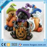 Figurine pequeno da resina de Halloween da venda quente para a decoração Home