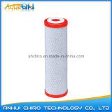 Патрон фильтра воды CTO 10 дюймов с красной крышкой