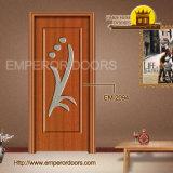 Hölzerne MDF-Tür, MDF-PVC-Tür, bündige PVC-Tür, Fenster