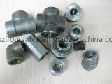 Ad alta pressione d'acciaio forgiato filettato/spina esagonale saldatura dello zoccolo