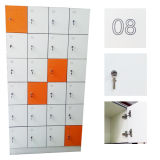 Fumeihua多彩な防水HPLのコンパクトなパネルの両開きドアのロッカー
