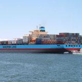 Mar del envío, océano, carga a Felixstowe, Reino Unido de China