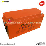 12V150ah batterie du cycle AGM pour l'inverseur d'UPS et solaire profonds