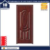 Nouveau design Entrée principale Sécurité Porte simple en bois