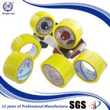 Nastro impaccante giallastro personalizzato della colla acrilica ampiamente usata BOPP