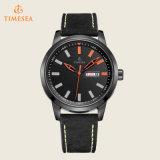 Die Form-Qualitäts-Luxuxquarz-Uhr-Leder-Uhr Men72257