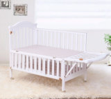 Solid Wood (M-X1123)의 최신 Selling 및 Cheap Price Baby Crib Made