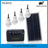 Sistema de iluminación solar recargable con cargador de teléfono